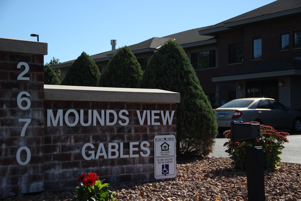 mounds-view-gables-building-sign